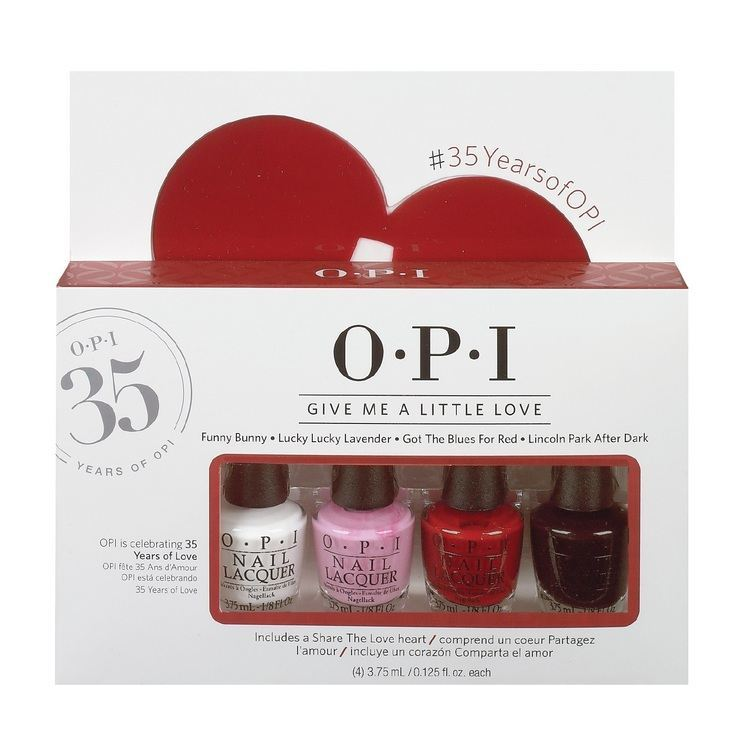 OPI Mini Pack - Give Me a Little Love 4X3,75ml