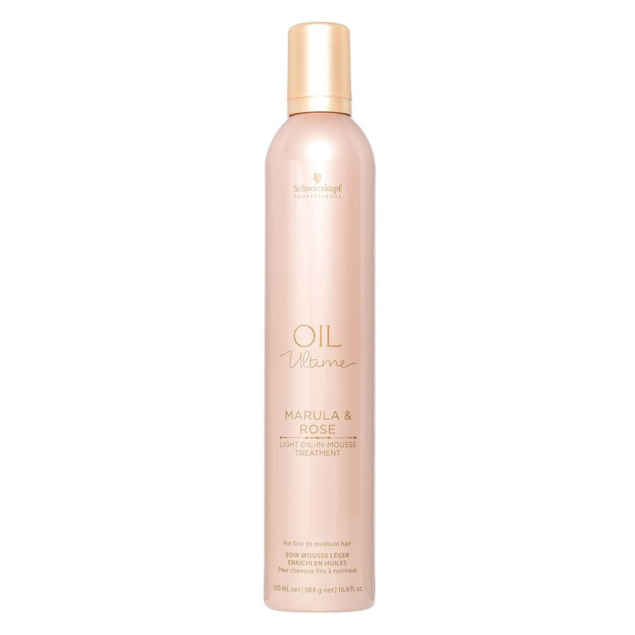 Schwarzkopf Oil Ultime Marula & Rose Light Oil-In-Mousse Treatment 500 ml