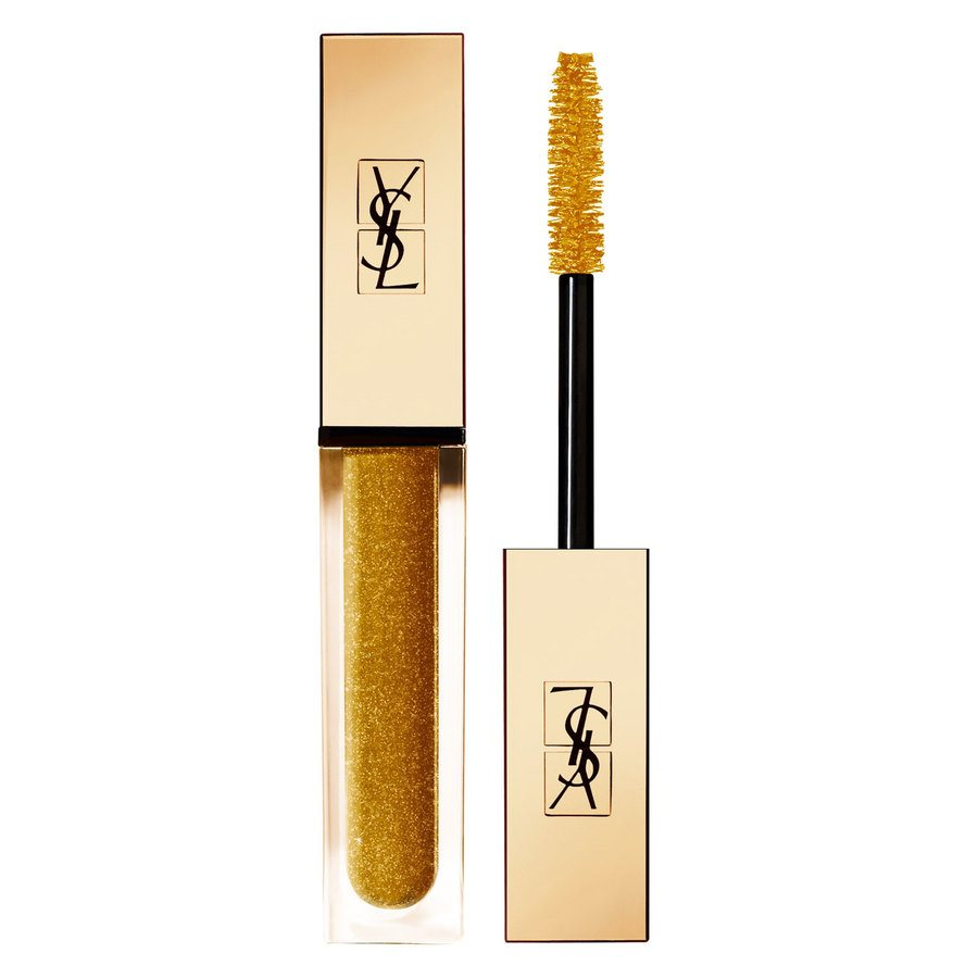 Yves Saint Laurent Vinyl Couture Mascara – #8 Gold Sparkle Top Coat