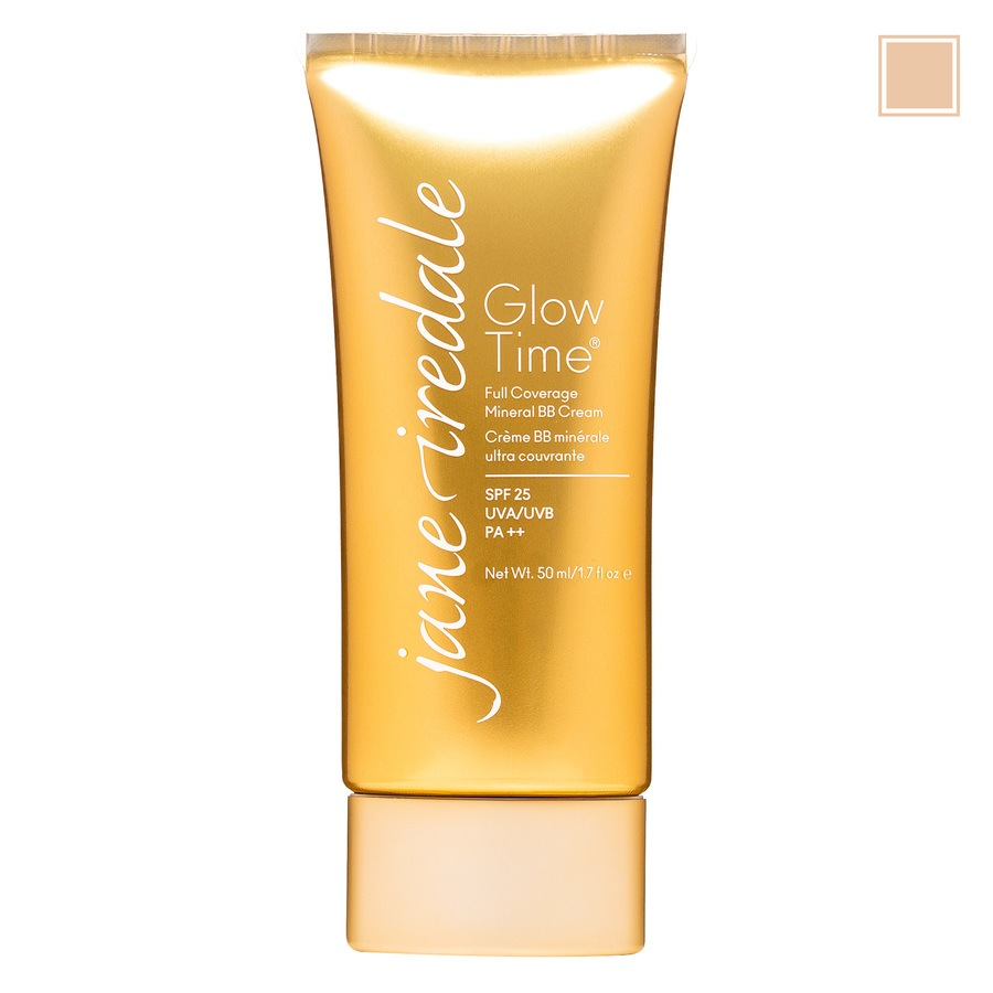 Jane Iredale Glow Time Full Coverage Mineral BB Cream – BB5 (Light / Medium) 50ml