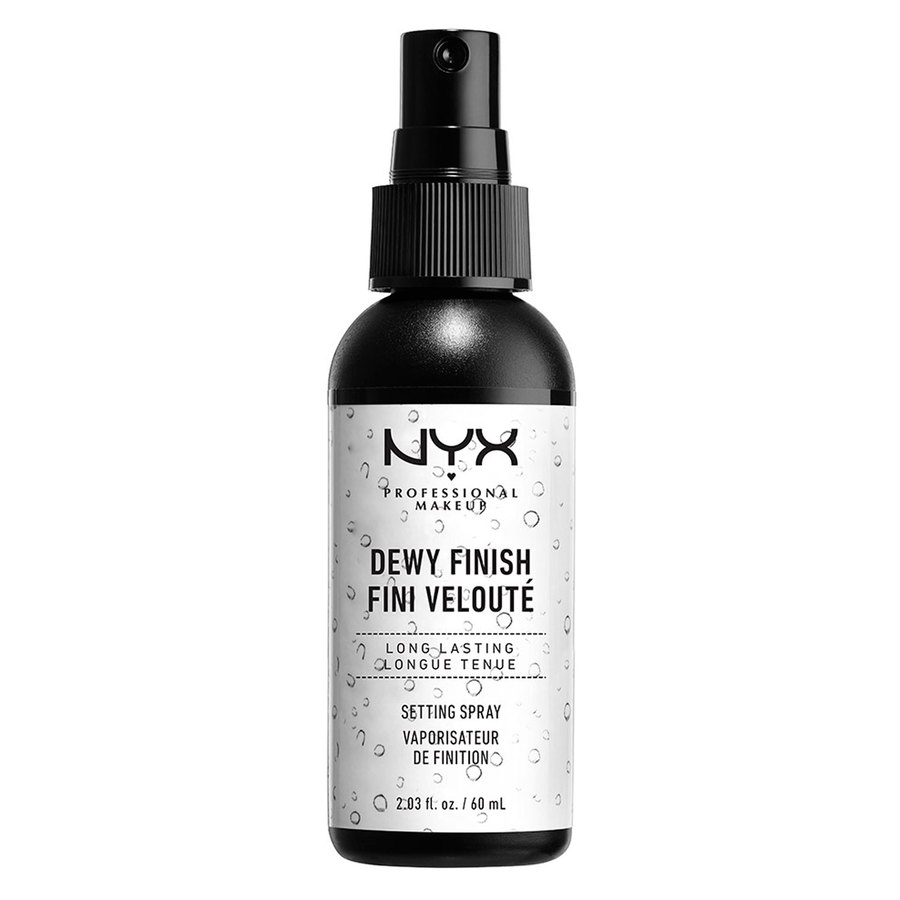 NYX Professional Makeup Make Up Setting Spray – Dewy Finish/Long Lasting 60ml