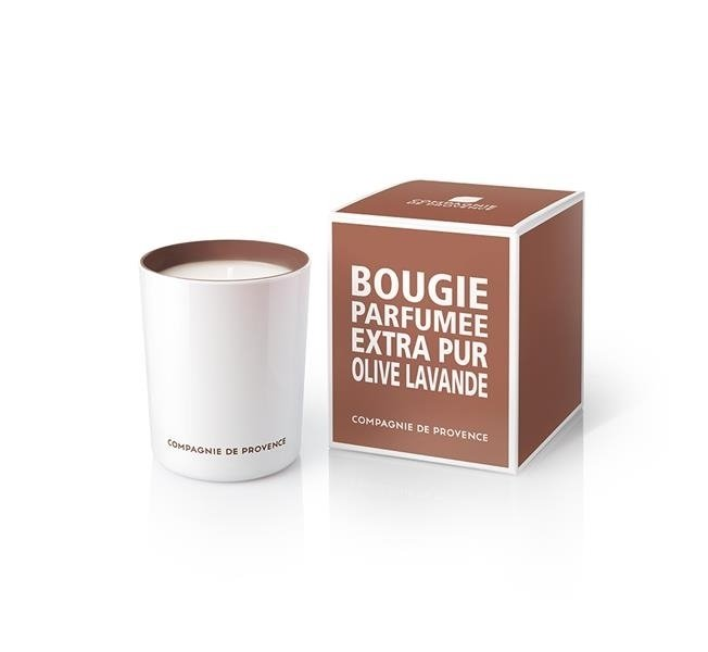 Compagnie De Provence Scented Candle 180g – Olive and Lavender
