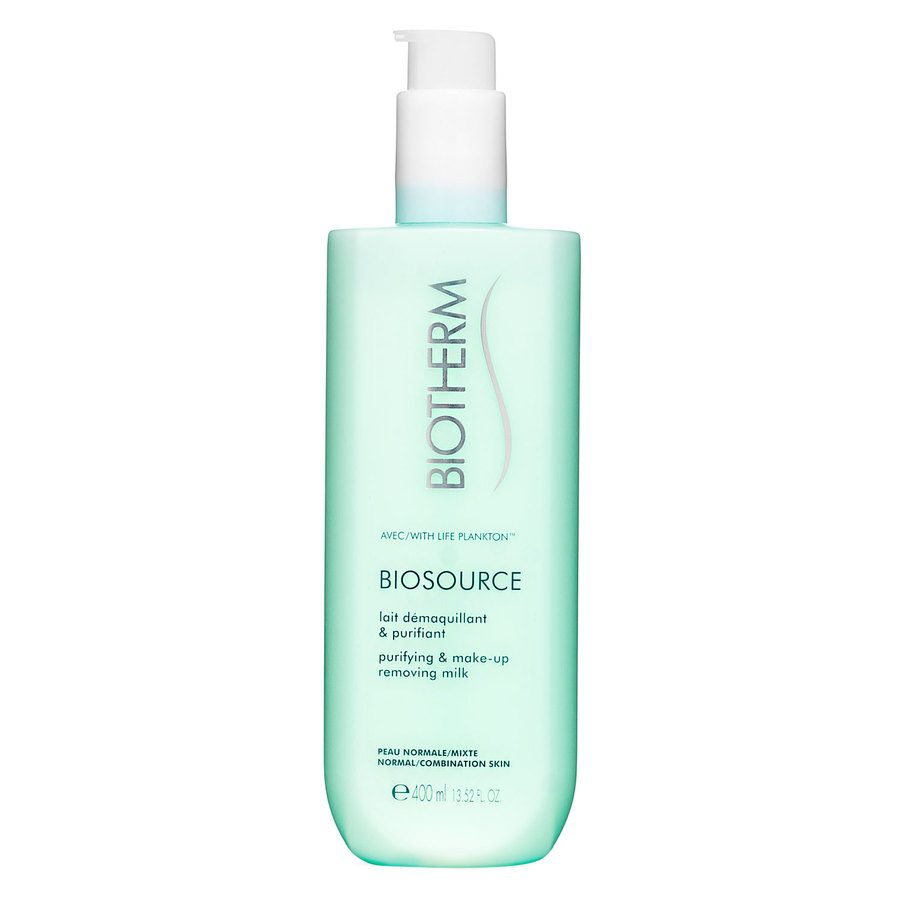 Biotherm Biosource Purifying & Make-Up Removing Milk Normal/Combination Skin 400 ml