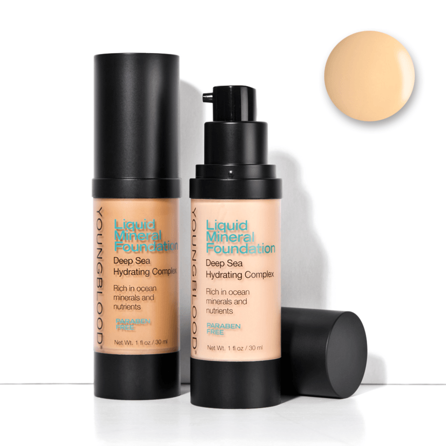Youngblood Liquid Mineral Foundation – Shell 30ml
