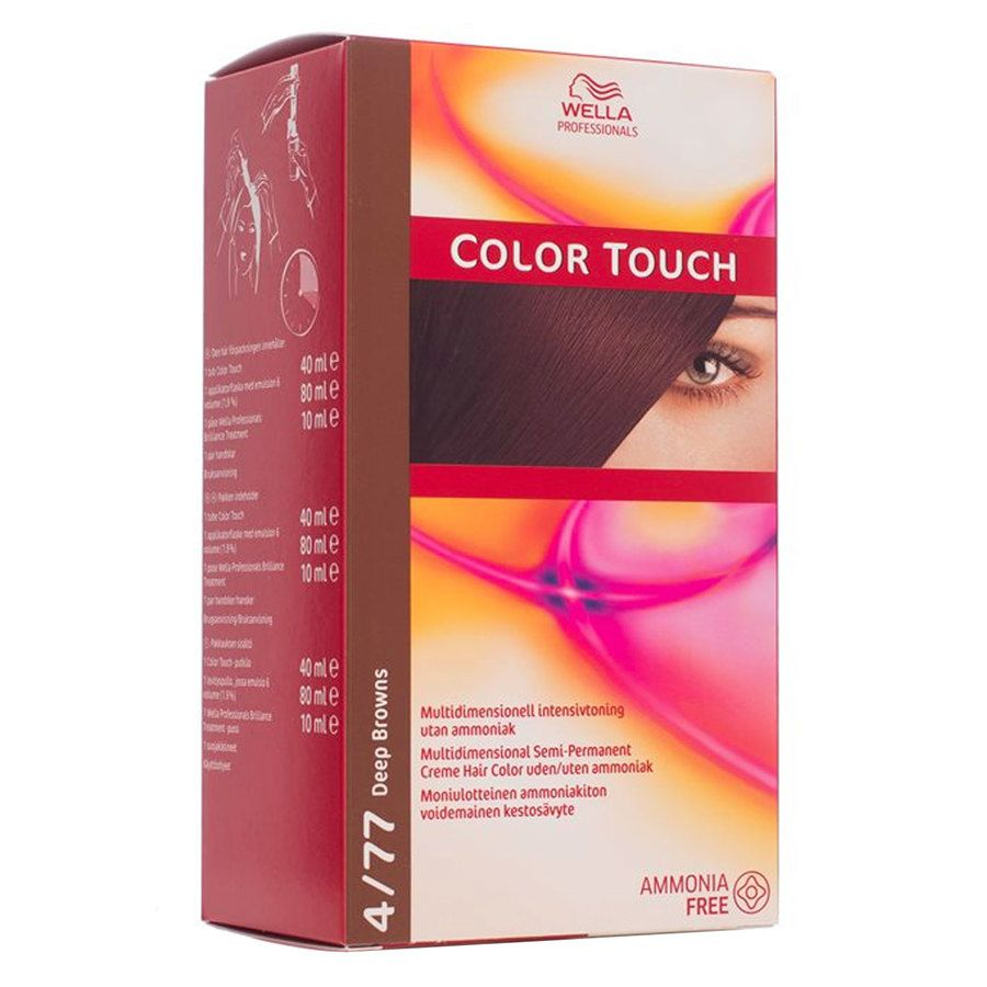 Wella Professionals Color Touch 130 ml – 4/77 Deep Browns