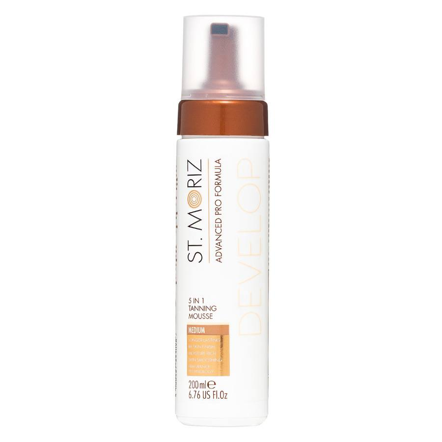 St. Moriz Advanced Pro Formula 5-in-1 Tanning Mousse 200ml - Medium