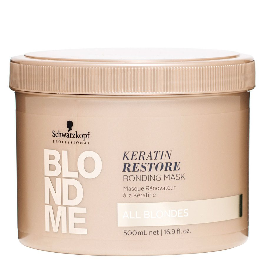 Schwarzkopf Blondme All Blondes Keratin Restore Mask 500 ml