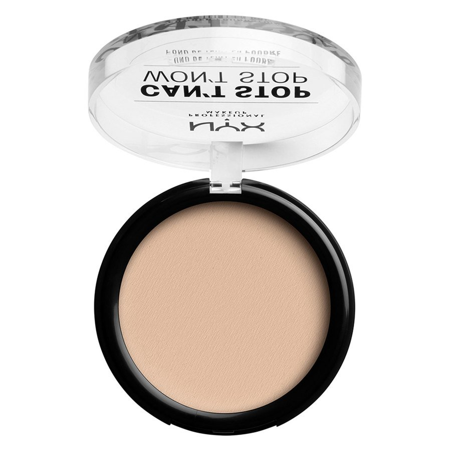 NYX Professional Makeup Can't Stop Won't Stop Powder Foundation #02 Alabaster 10,7g