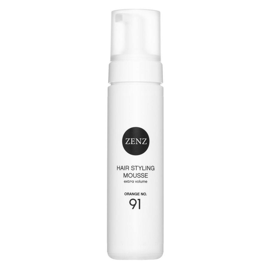 Zenz Organic 91 Hair Styling Mousse Extra Volume Orange 200 ml