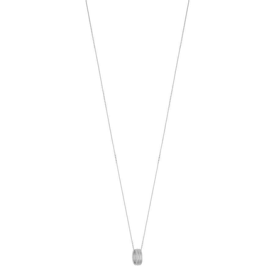 Snö of Sweden Helena Small Pendant Necklace 80 cm – Plain Gold