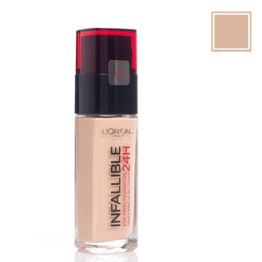 L'Oréal Paris Infallible 24H Liquid Foundation – 220 Sand 30ml