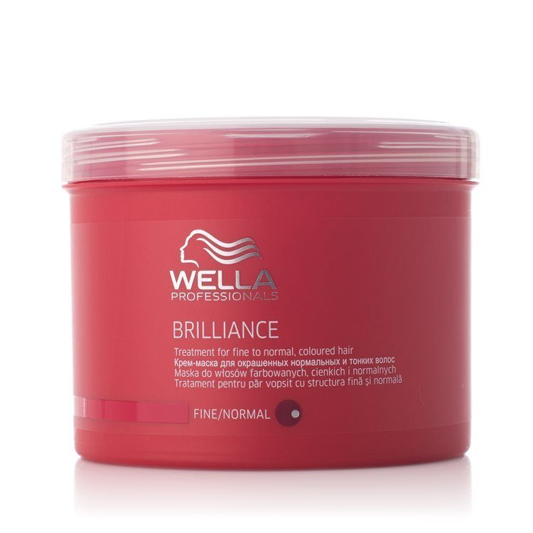 Wella Brilliance Treatment for Fine to Normal, Coloured Hair 500 ml