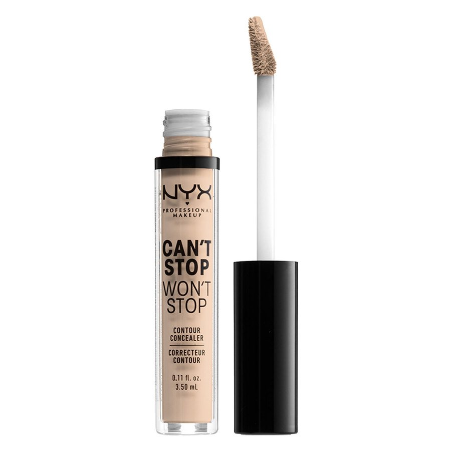 NYX Professional Makeup Can't Stop Won't Stop Contour Concealer Alabaster 3,5ml