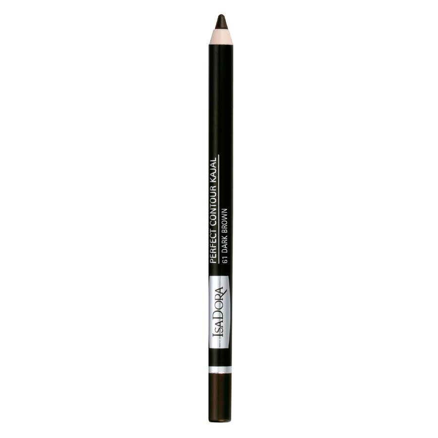 IsaDora Perfect Contour Kajal 1,3 g - 61 Dark Brown