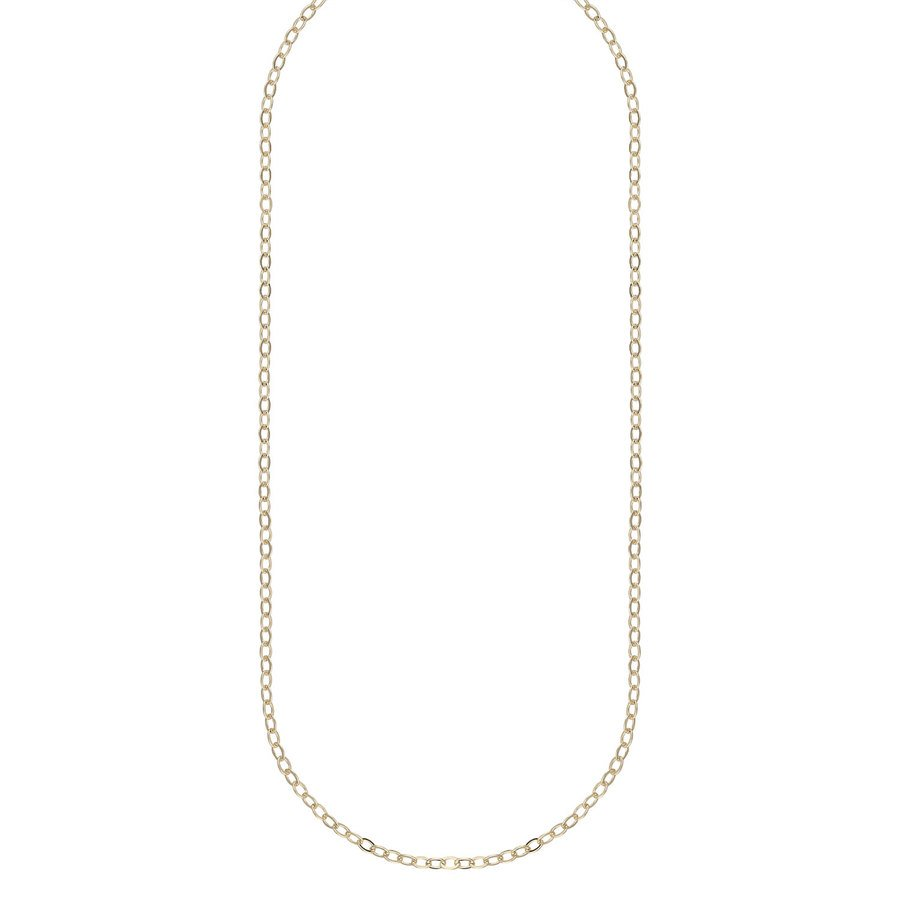 Snö Of Sweden Chase True Small Necklace 50 – Plain Gold