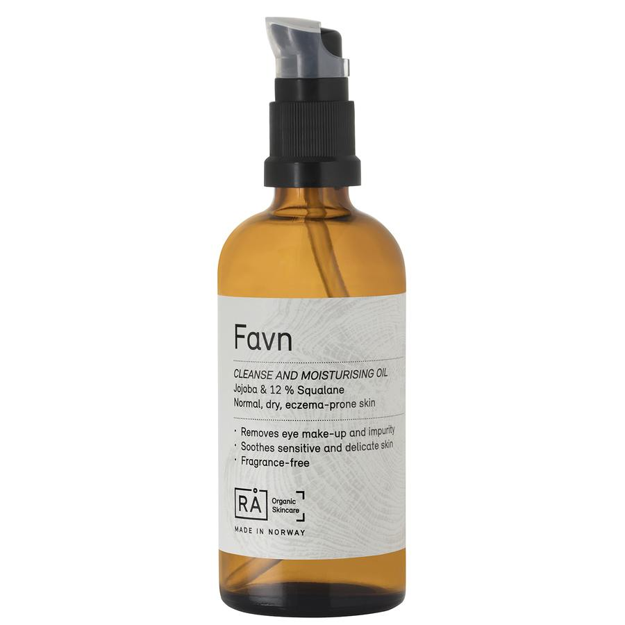 RÅ Organic Skincare Favn Cleanse And Moisturising Oil 100 ml