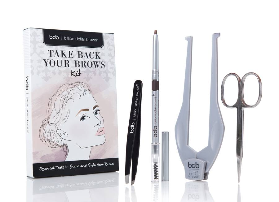 Billion Dollar Brows Take Back Your Brows Kit (4 tuotetta)