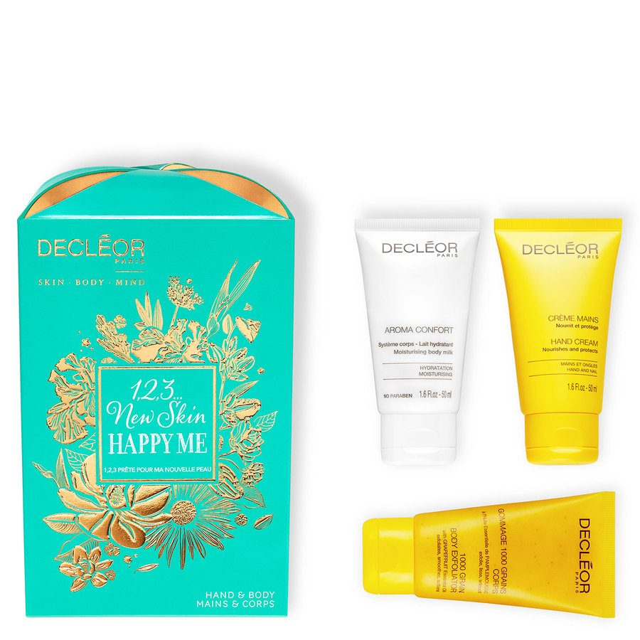 Decléor 1, 2, 3 New Skin, Happy Me Kit Body Trio Giftset