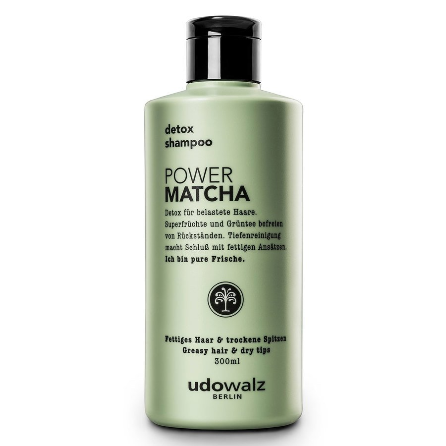 Udo Walz Power Matcha Detox Shampoo 300 ml