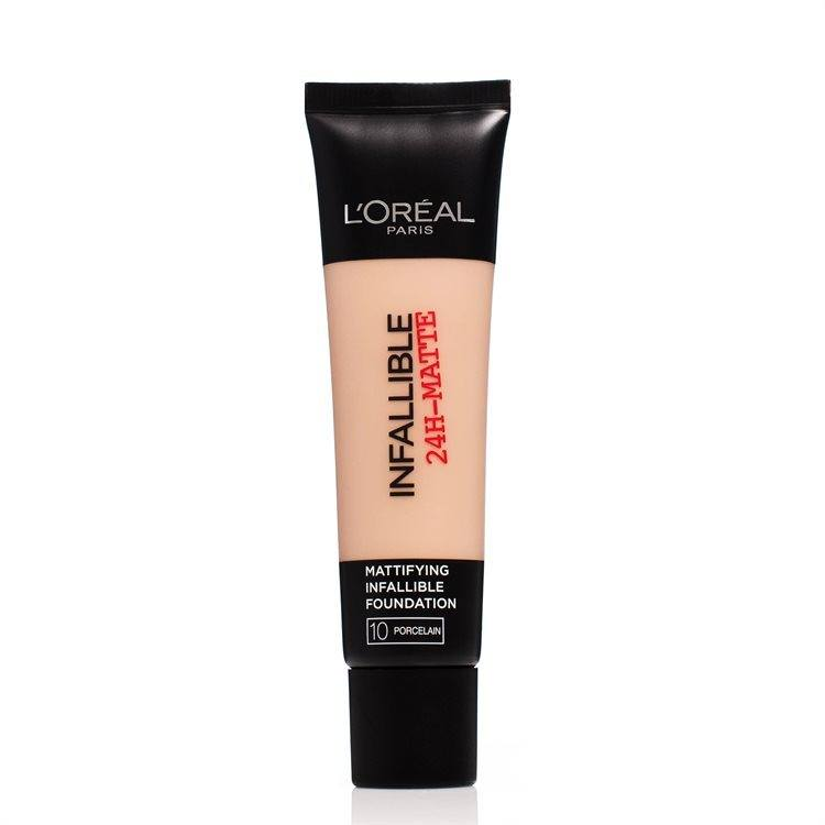 L'Oréal Paris Infallible 24h Matte Foundation 30 ml – 10 Porcelain