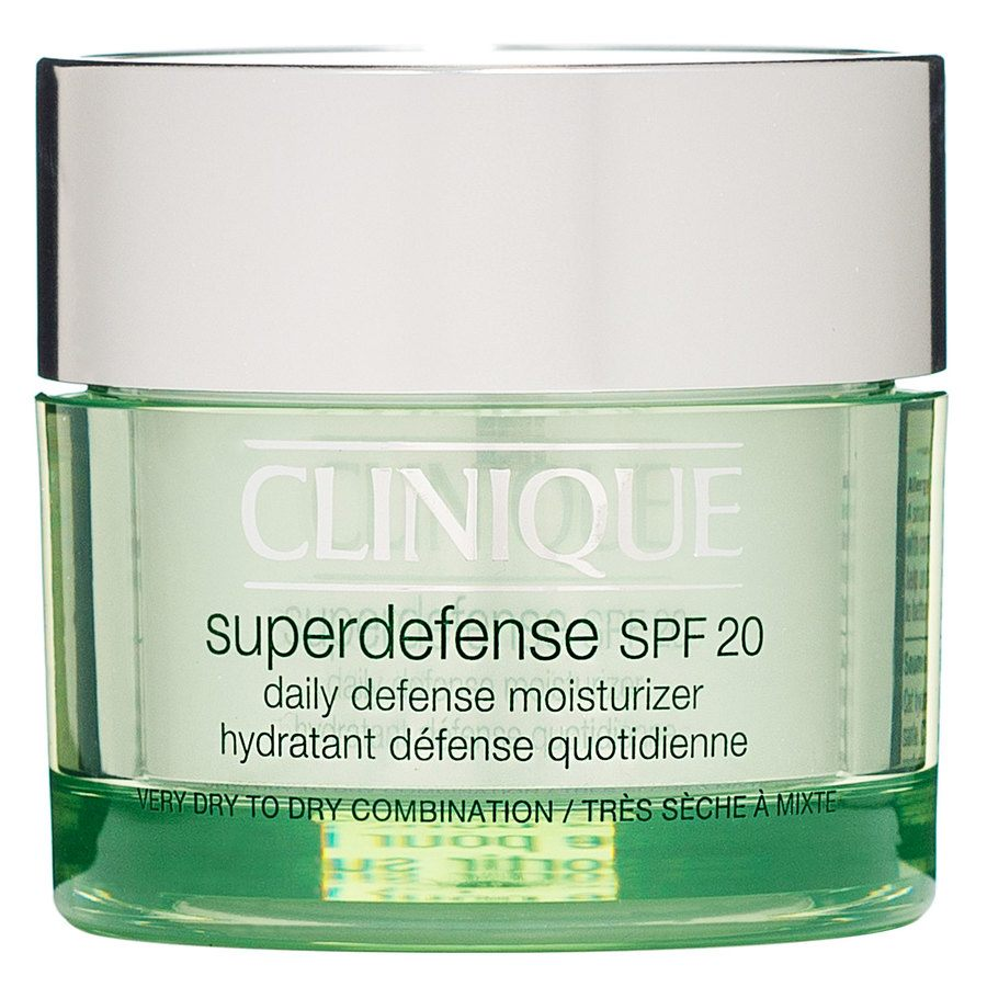 Clinique Superdefense SPF 20 Daily Defense Moisturizer Very Dry To Dry Combination 50ml