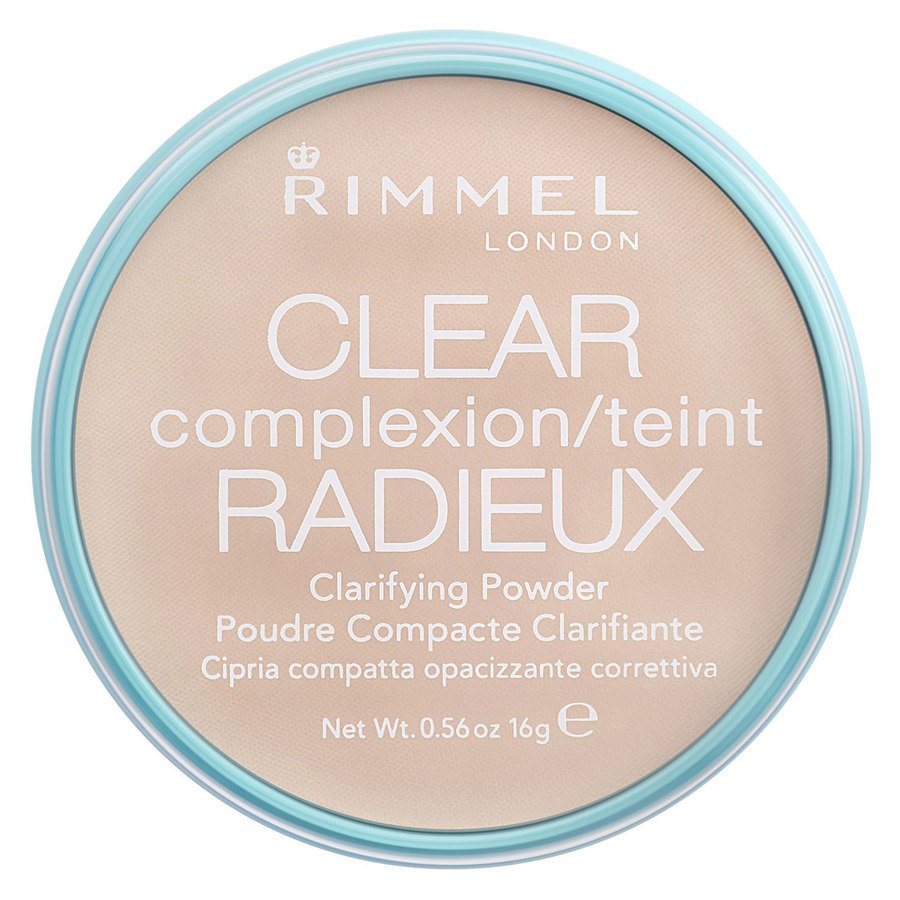 Rimmel London Clear Complexion Clarifying Powder 16 g ─ Transparent