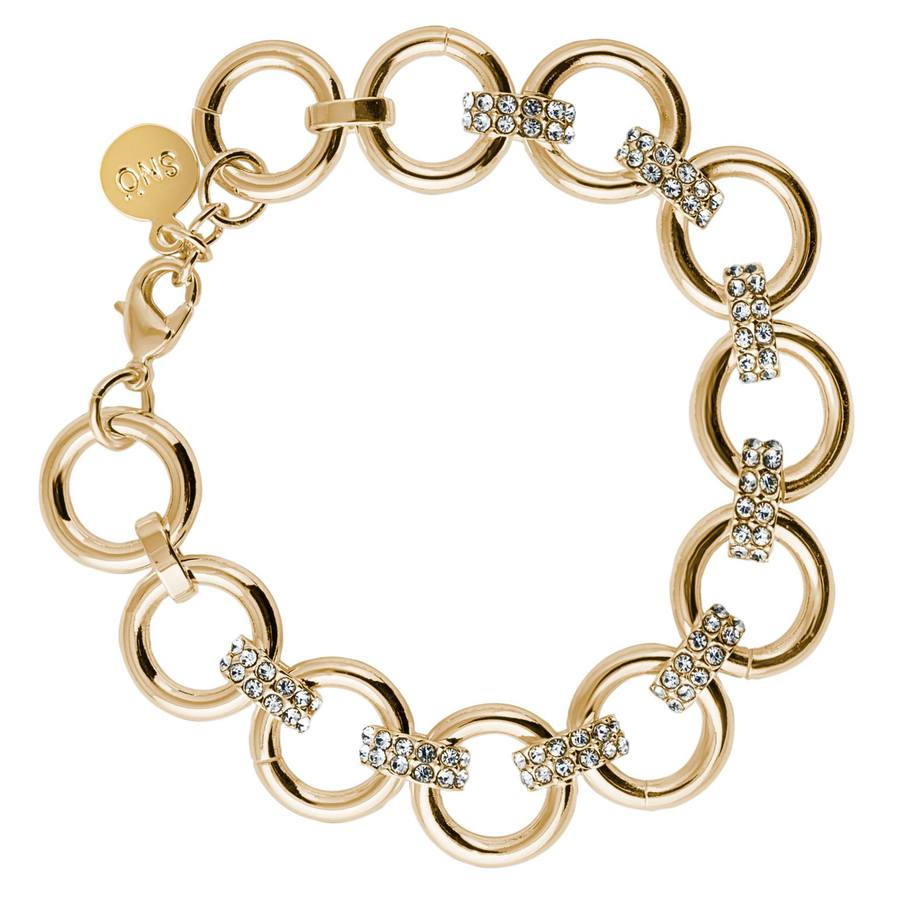 Snö of Sweden Adara Bracelet – Gold/Clear