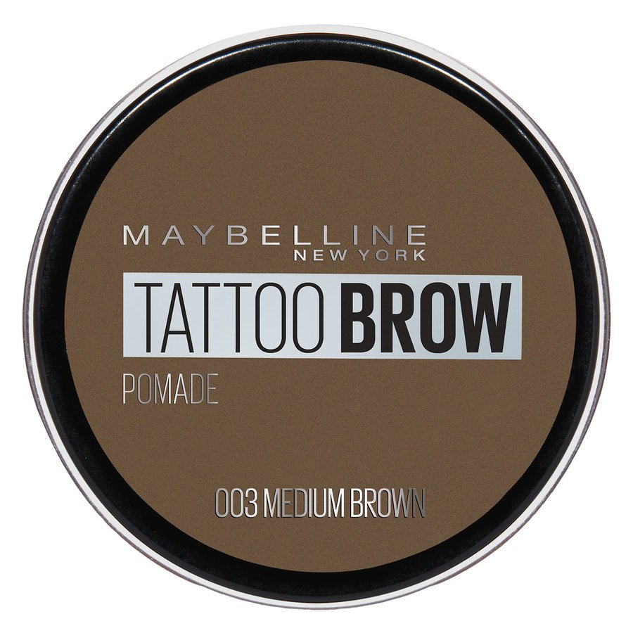 Maybelline Tattoo Brow Pomade Pot – Medium Brown