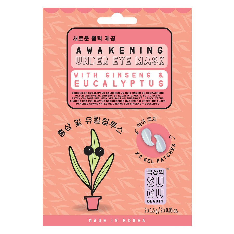 SUGU Awakening Under Eye Mask Ginseng And Eucalyptus