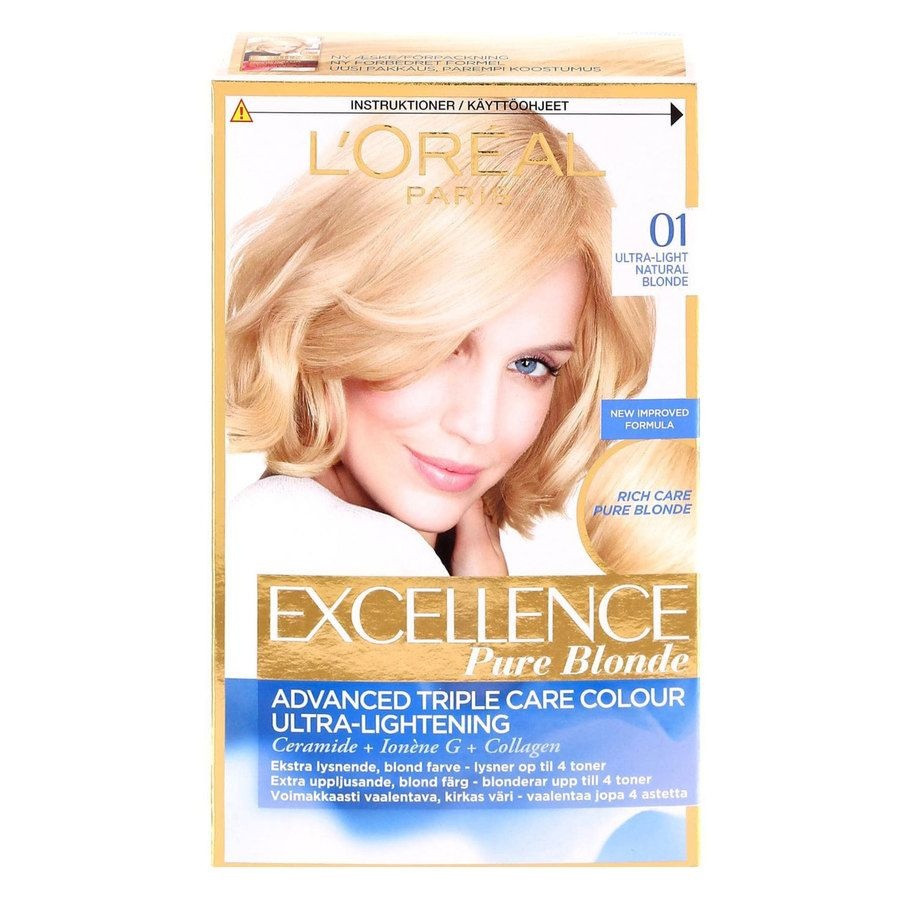 L'Oréal Paris Excellence Creme - 01 Blonde Supreme Natural