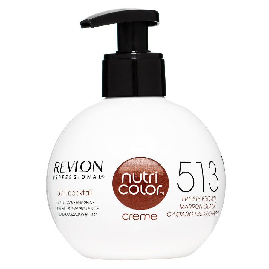 Revlon Professional Nutri Color Creme 270ml - 513 Frosty Brown