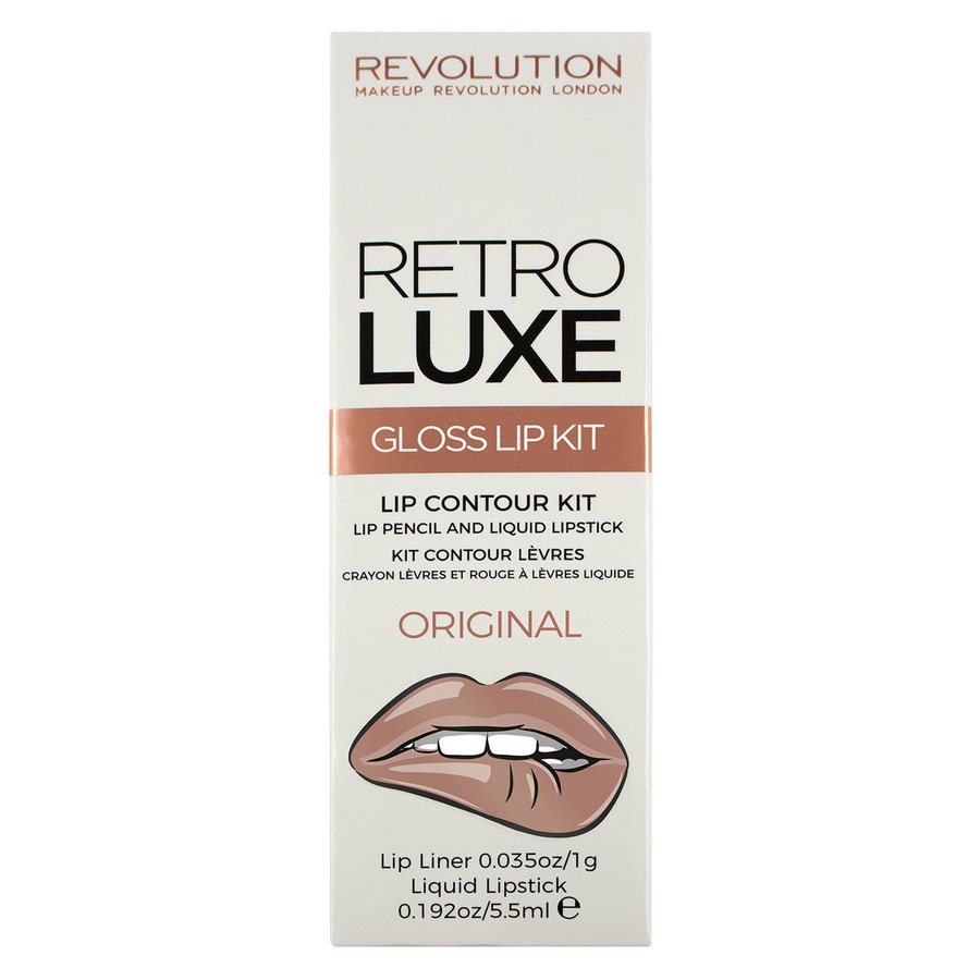Makeup Revolution Retro Luxe Kits Gloss Original