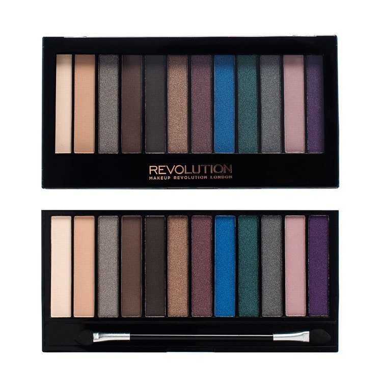 Makeup Revolution Redemption Palette 14 g - Hot Smoked