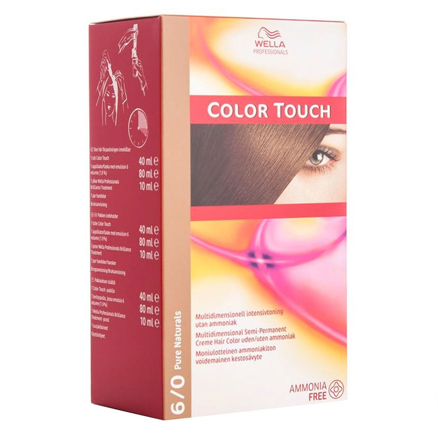 Wella Professionals Color Touch 130 ml – 6/0 Pure Naturals
