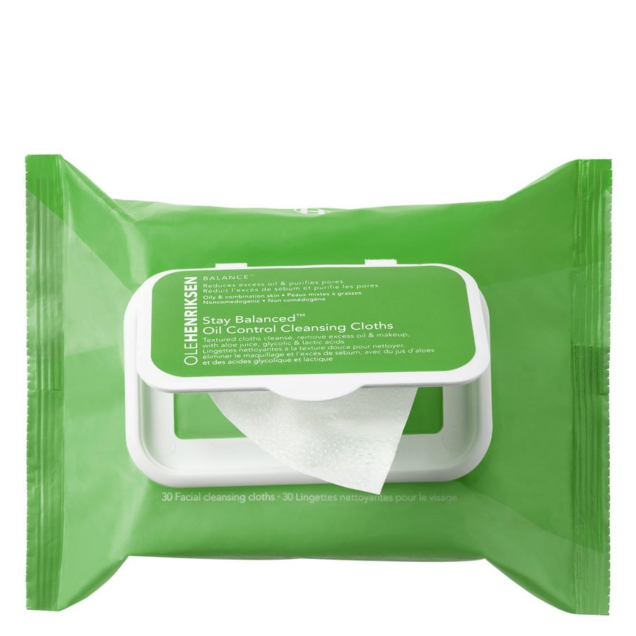 Ole Henriksen Stay Balanced Oil Control Cleansing Cloths 30 ml