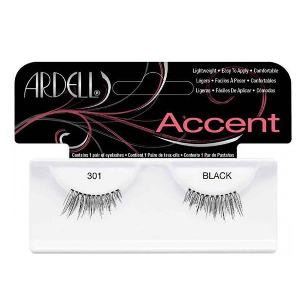 Ardell Accent Lashes, Black #301