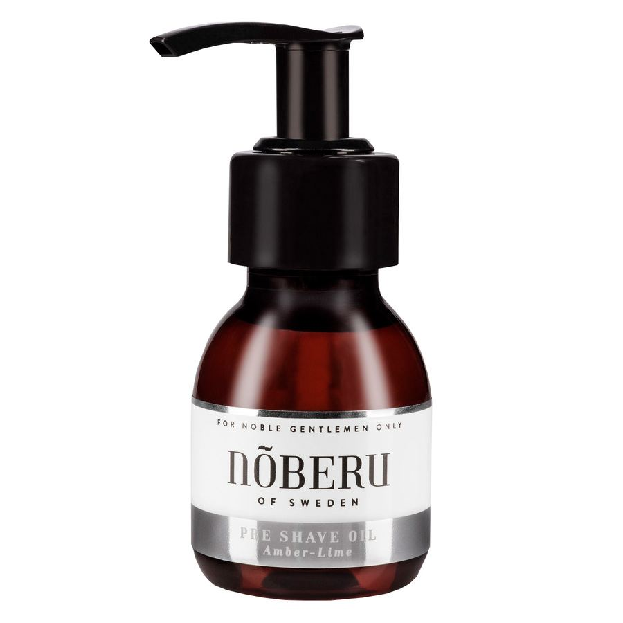 Nõberu Pre-Shave Oil, Amber-Lime (60 ml)