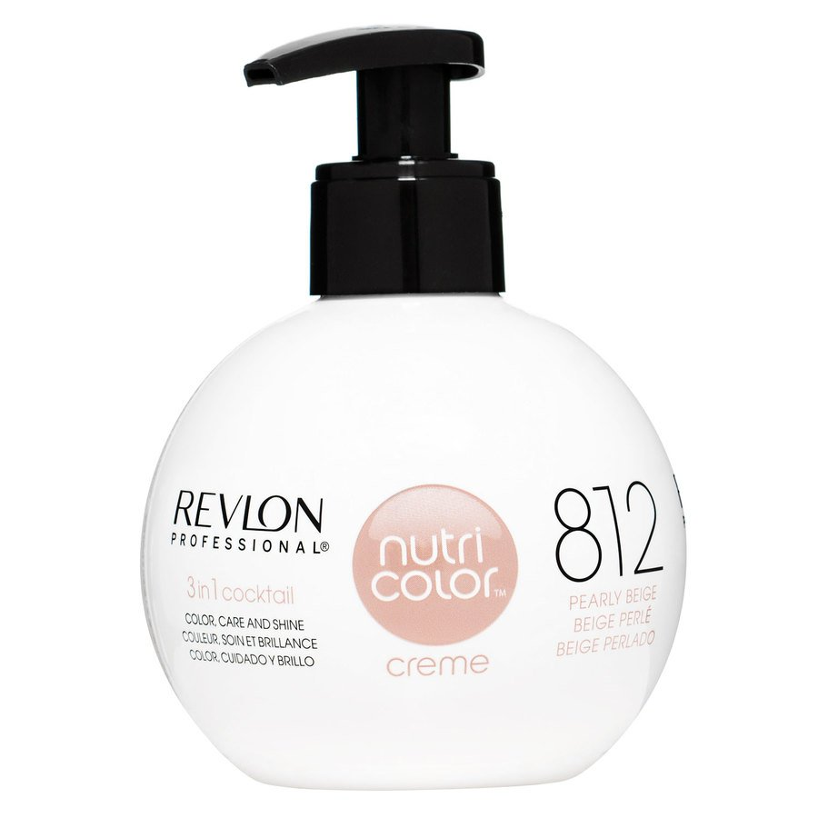 Revlon Professional Nutri Color Creme 270 ml – 812 Light Pearly Beige Blonde