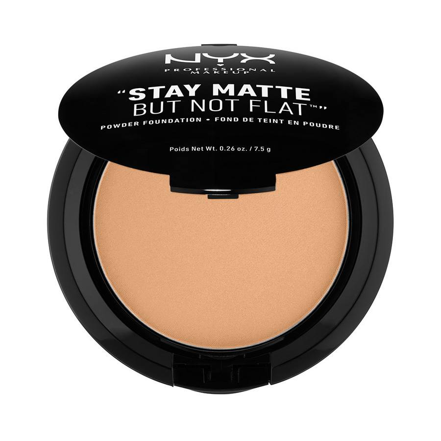 NYX Professional Makeup Stay Matte But Not Flat Powder Foundation Caramel 7,5g