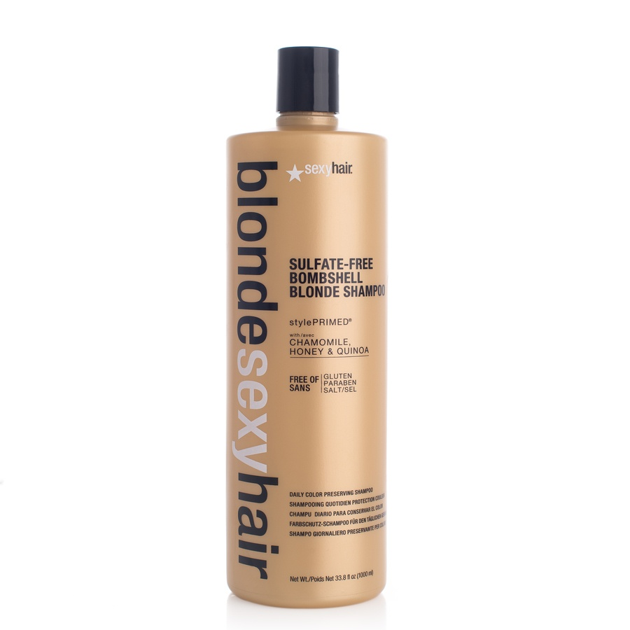 Sexy Hair Bombshell Blonde Shampoo 1 000 ml