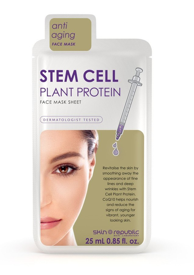 Skin Republic Stem Cell Plant Protein Mask Sheet 25ml