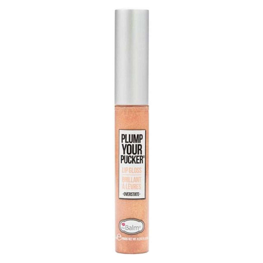 theBalm Plump Your Pucker Lip Gloss 7 ml – Overstate