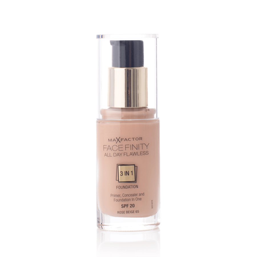 Max Factor Facefinity 3 In 1 Foundation 30 ml – 65 Rose Beige