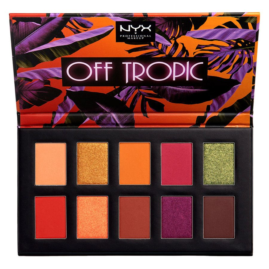 NYX Professional Makeup Off Tropic Shadow Palette 02 Shifting Sand