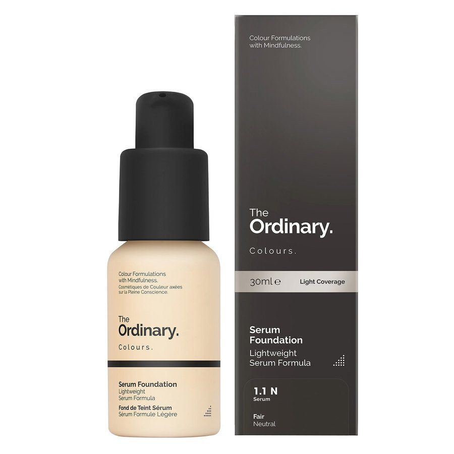 The Ordinary Serum Foundation 1.1 N Fair Neutral 30ml