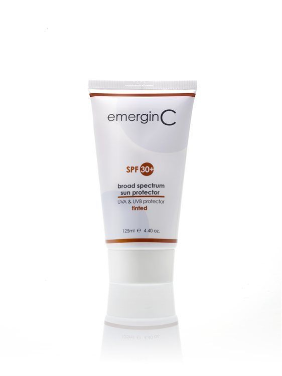emerginC Sun 30+ Tinted 125ml